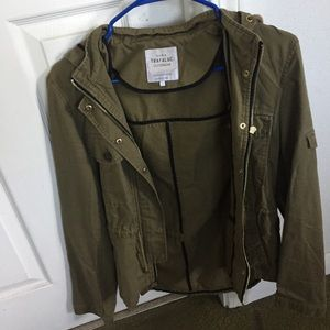 More of a olive green utility jacket